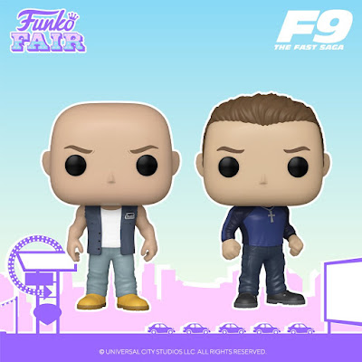 F9: The Fast and The Furious Pop! Vinyl Figures by Funko