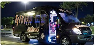 autobús para despedidas de soltero, soltera, madrid