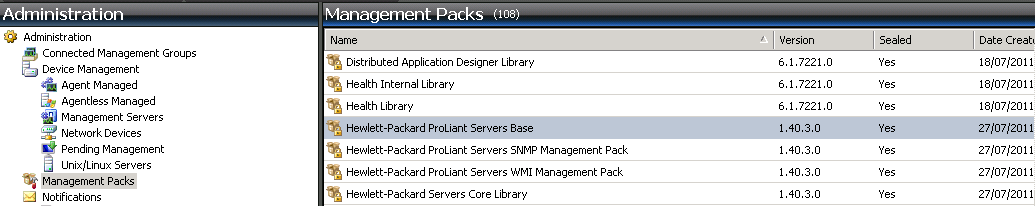 Kevin Greene IT Blog: SCOM - Installing the HP Proliant