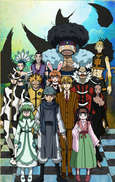 Hunter x Hunter, Zodiacs, Ging Freeccss, Pariston Hill