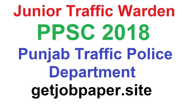 Junior Traffic Warden Past Papers 2018