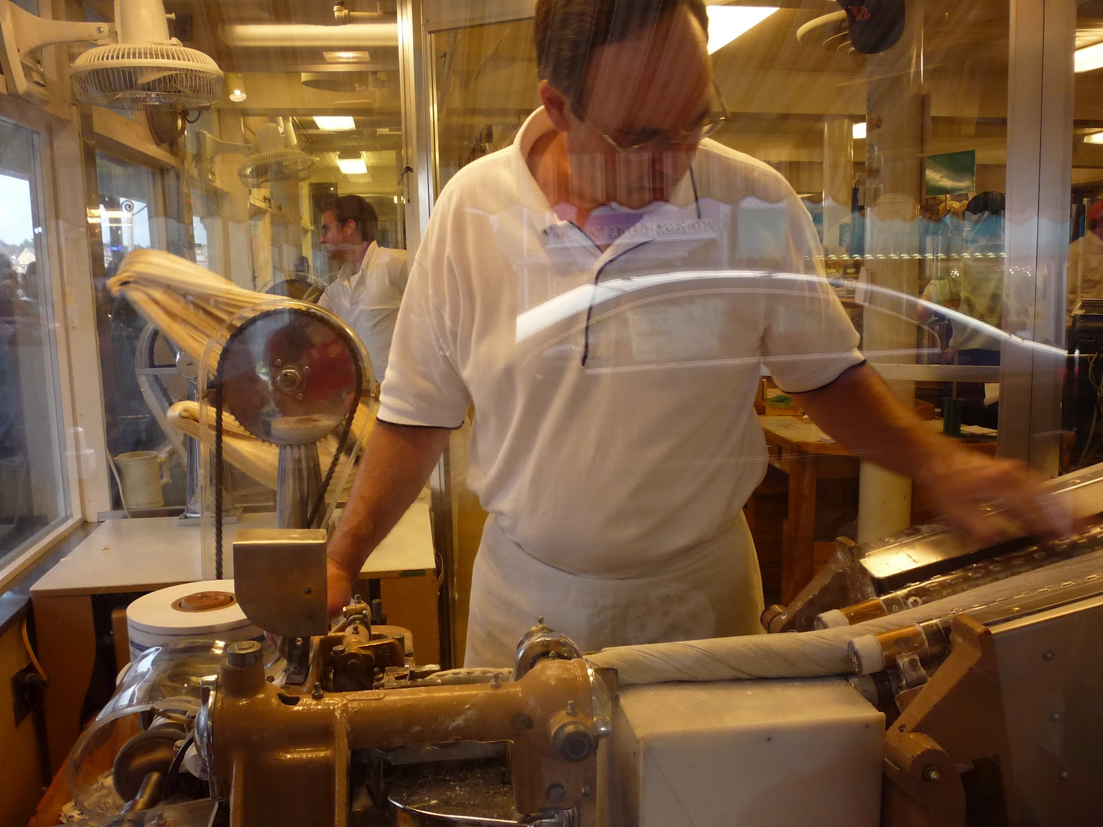 Making The Salt Water Taffy Photo By Eric