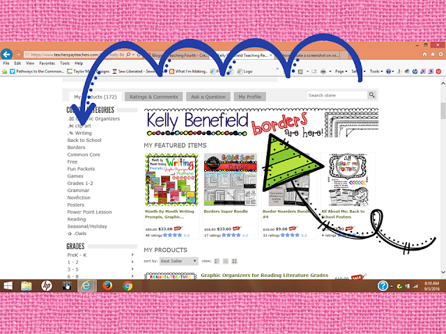 https://www.teacherspayteachers.com/Store/Kelly-Benefield