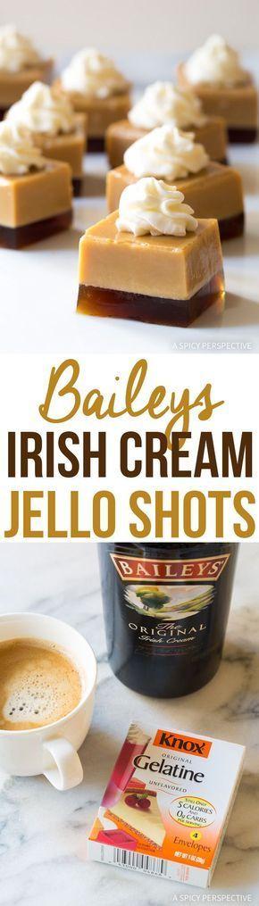 Baileys Irish Cream Jello Shots