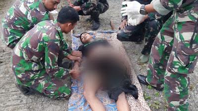 Jelang Bulan Kasih, KKB Serang Patroli TNI