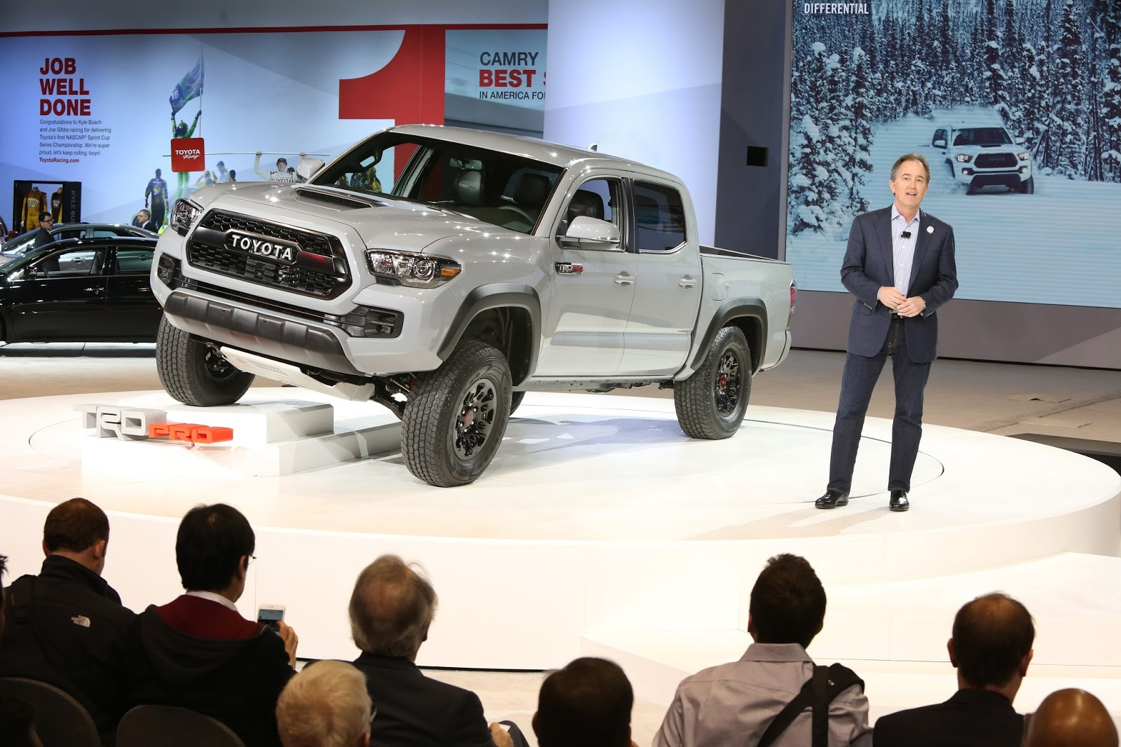 Marvelous 2017 Toyota Tacoma TRD Pro Debut | Larry H. Miller Toyota Colorado Springs
