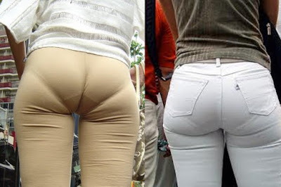 very tight clothes