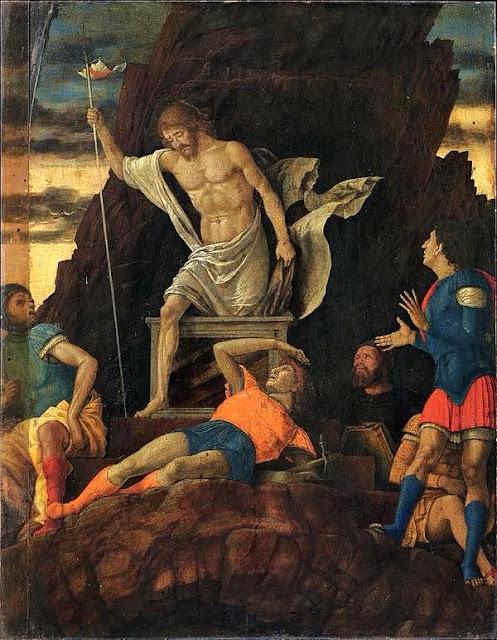 Risurrezione di Cristo - 1492-1493 circa Andrea Mantegna - Accademia Carrara - Bergamo