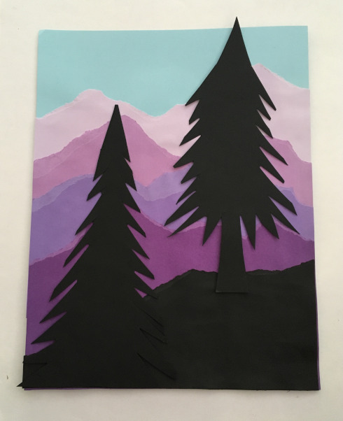 Arrangement 3:  2 Trees