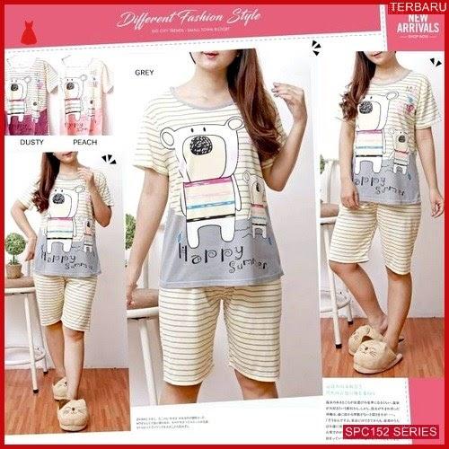 SPC152P67 Piyama Happy Terbaru Summer Baju Tidur Wanita | BMGShop