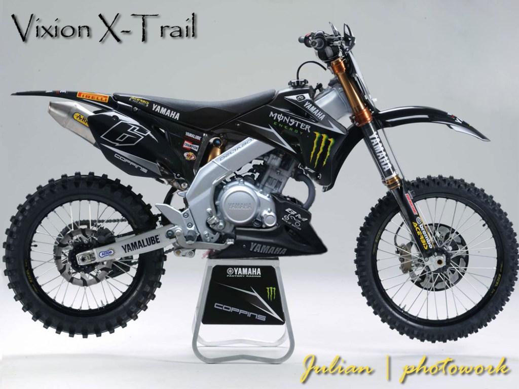 11 Tips Modifikasi Motor Vixion Menjadi Supermoto Trail ID