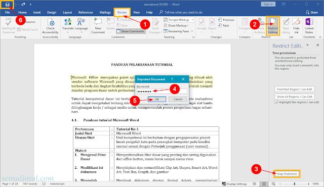 cara mengunci file word agar tidak bisa dicopy