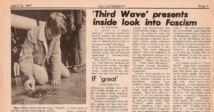 ron jones the wave