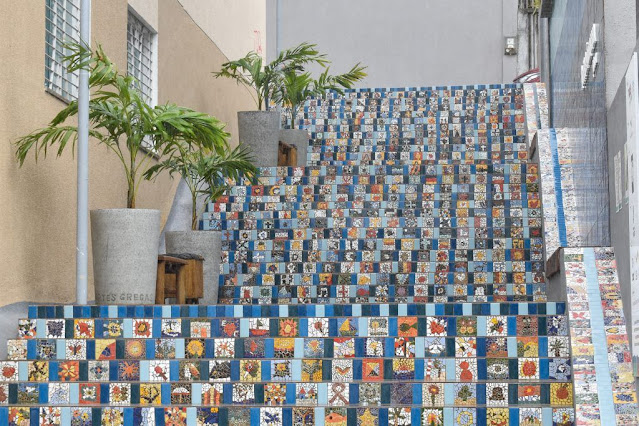Escadaria Todos Pela Cidade