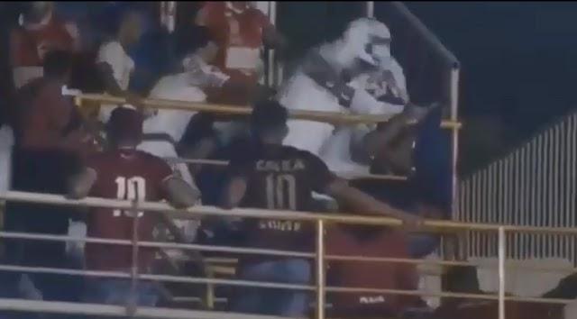 Violência no jogo Anápolis x Vila Nova na abertura do Campeonato Goiano