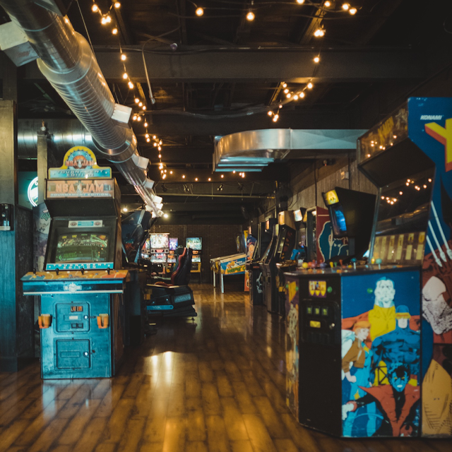 Traditional amusement arcade, retro video games, retro games, arcade, mark taylor, beechhouse media,