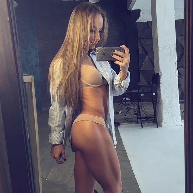 Fitness model Soldatova Sonia Солдатова Instagram photos