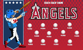 The various Baseball Banner Color