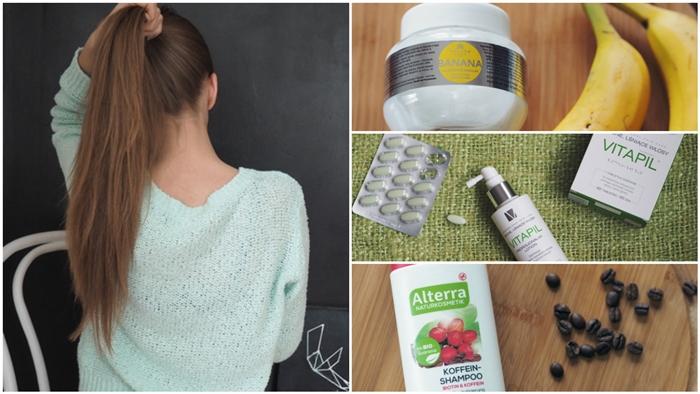 Kosmetyki, które używam przeciw wypadaniu włosów blog