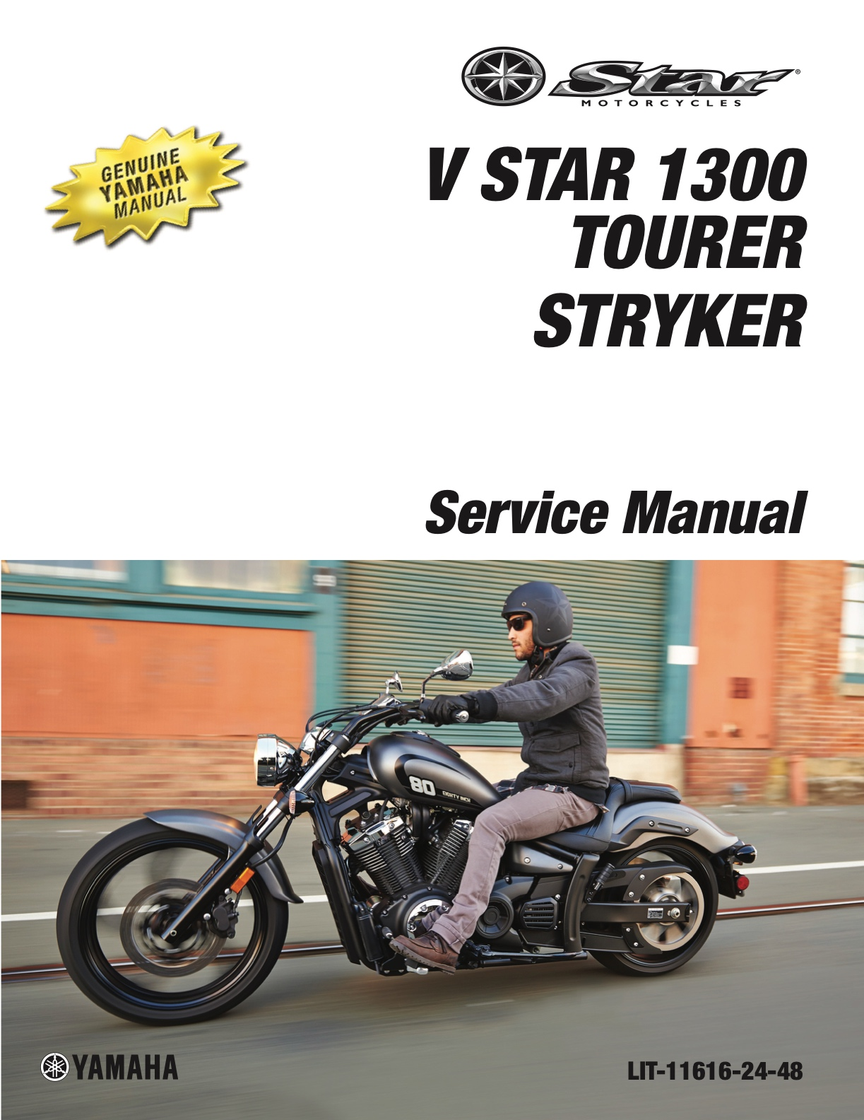YAMAHA V-Star 1300 | Tourer | Stryker 2011-2017 Workshop Repair Service  Manual