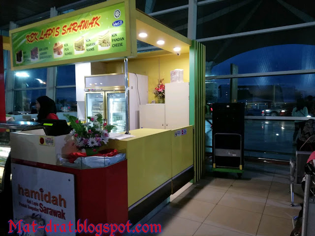 Kek Lapis Hamidah Kuching Airport