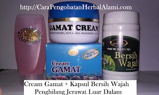 Jual obat Cream Gamat Asli Penghilang Jerawat, Pemutih Wajah Alami