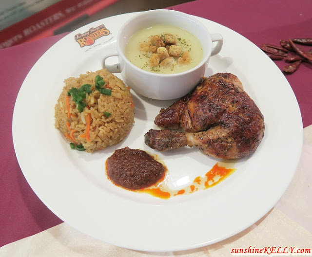 Kenny Rogers ROASTERS, Absolutely Sambalicious Meal