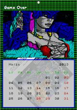 Calendario Tías Spectrum 2013