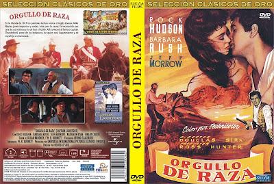 Carátula dvd: Orgullo de Raza (1955) Captain Lightfoot - DescargaCineClasico