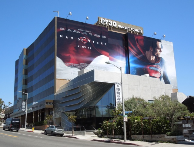 Giant Man of Steel 2013 billboard