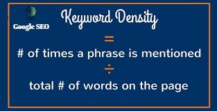 Keyword Density of Page