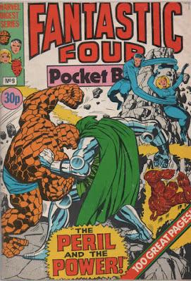 Fantastic Four pocket book #9, Dr Doom