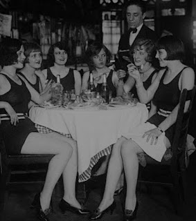 Edith Babson With The Ziegfeld Girls