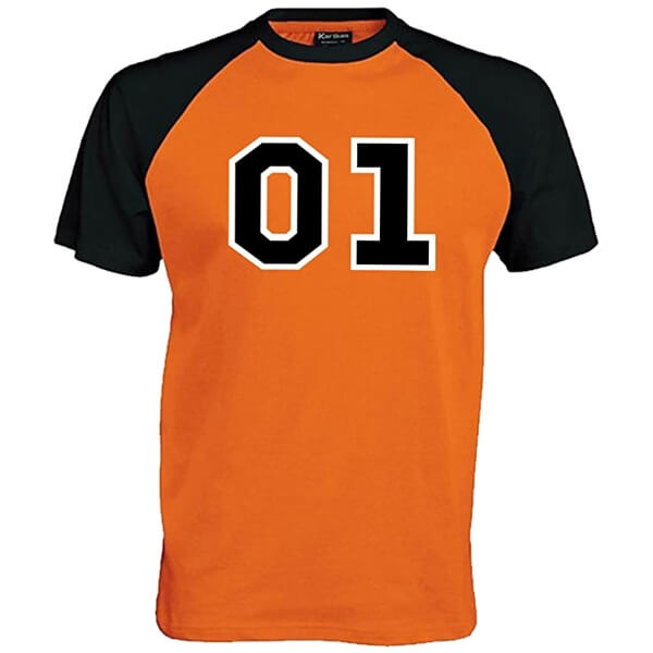 FEB 26 - GENERAL LEE 01 BASEBALL TEE. Pay homage to The Dukes of Hazzard with this popular shirt.