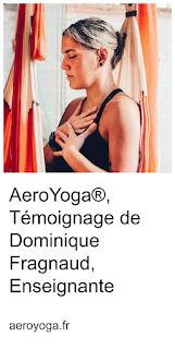 cours enseignants aero yoga aérien