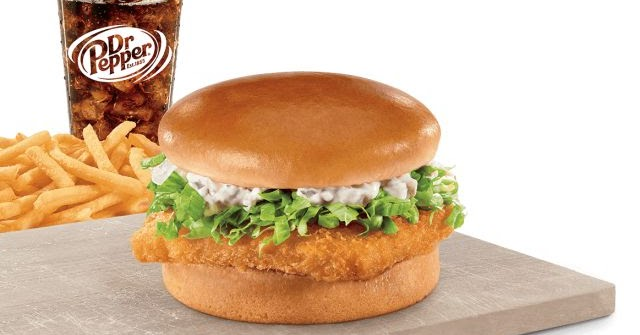 Fish sandwich returns to jack in the box brand eating for Wendy s fish sandwich