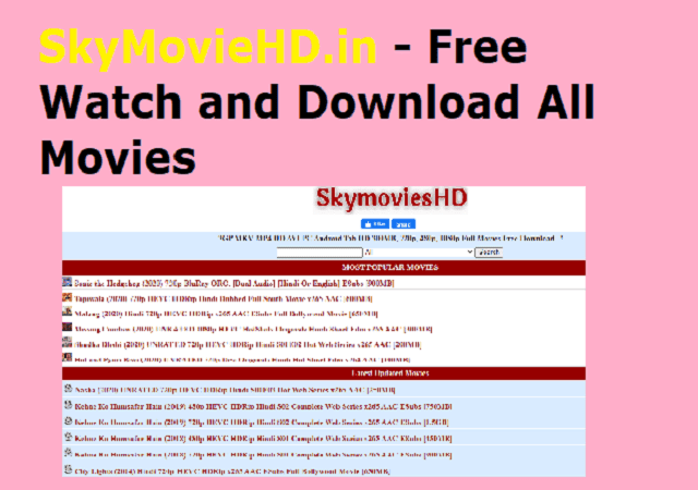 SkyMovieHD.in - Free Watch and Download All Movies