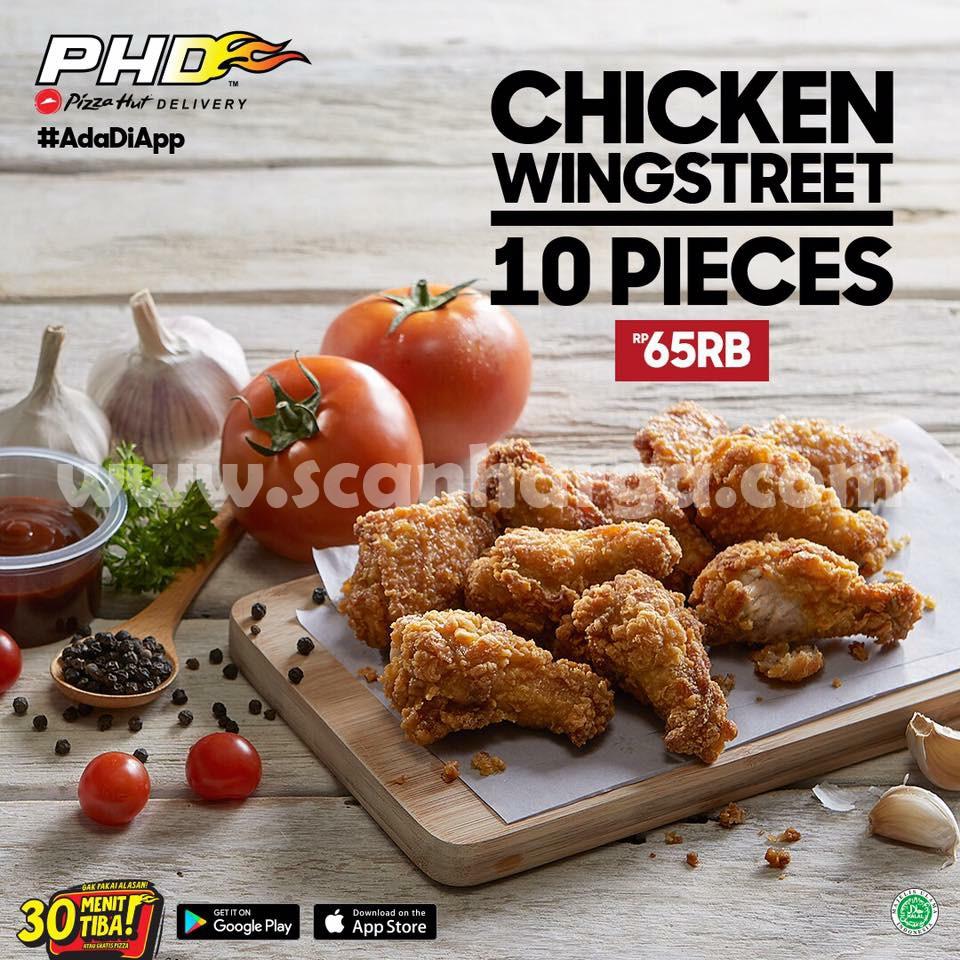 Diskon PHD Promo Chicken Wingstreet 10 Pcs Rp 65 Ribu