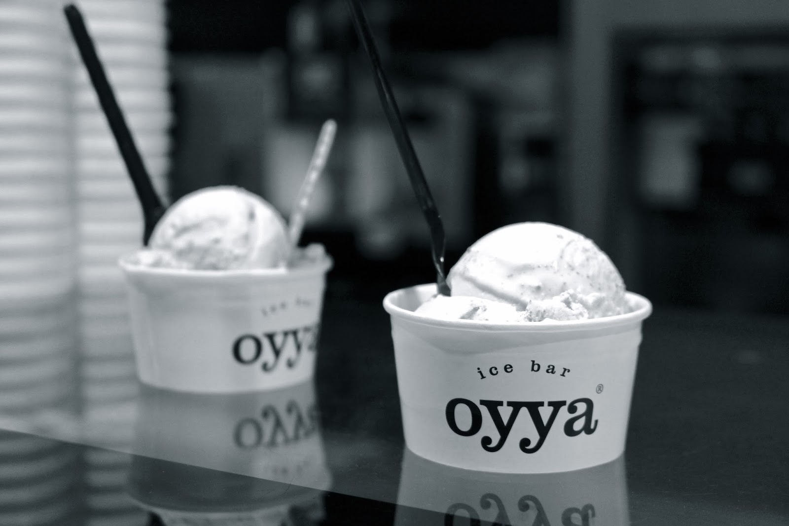 Oyya ice bar travel blogger review Bruges