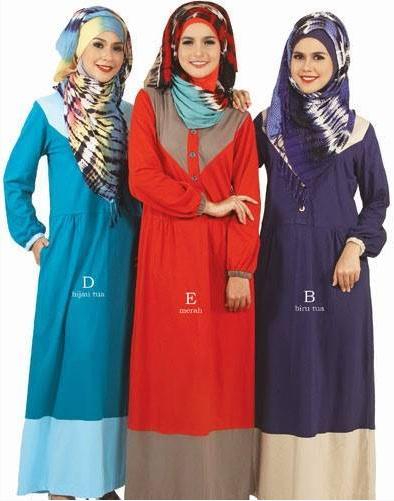 Contoh Baju Muslim Gamis Trendy untuk Anak Muda