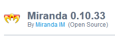 Miranda 0.10.33 For Windows