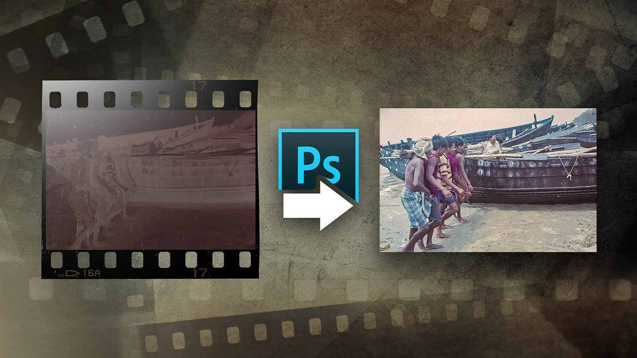 Develop a Negative Film at Home with Photoshop!