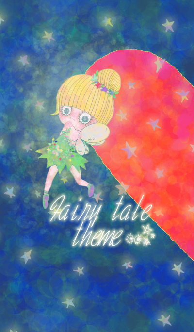 Fairy tale pair theme.Girl