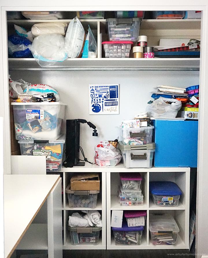 Artsy-Fartsy Mama Craft Room