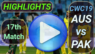 Pak vs Aus 17th Match