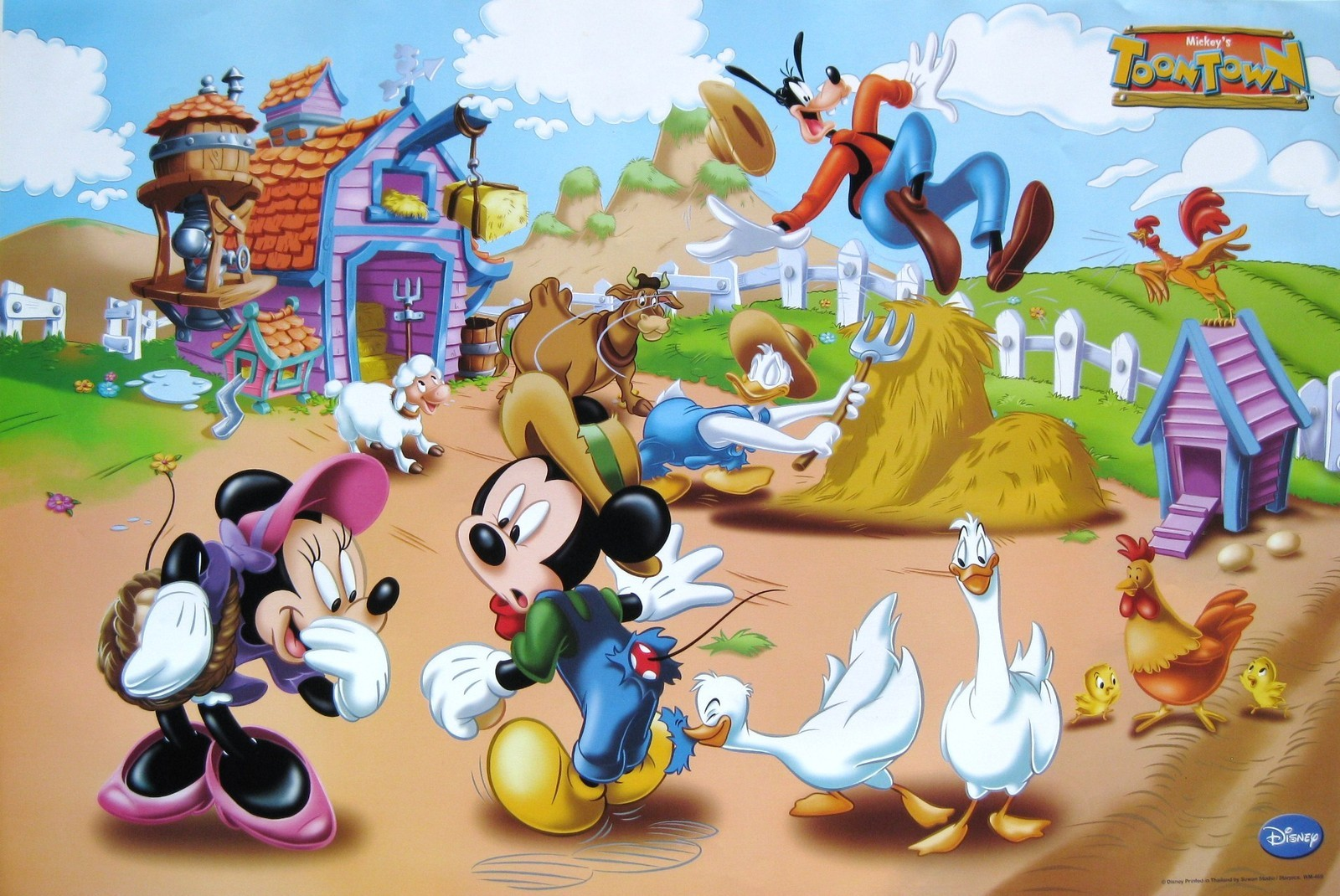 Tales From The Mouse House Mickey Donald Have A Farm