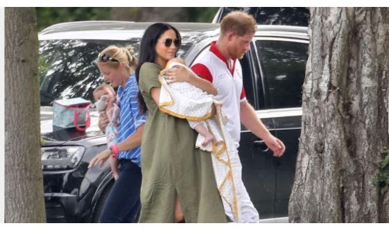 Harry and Meghan apologize for baby Archie's 'illegal' drone photos
