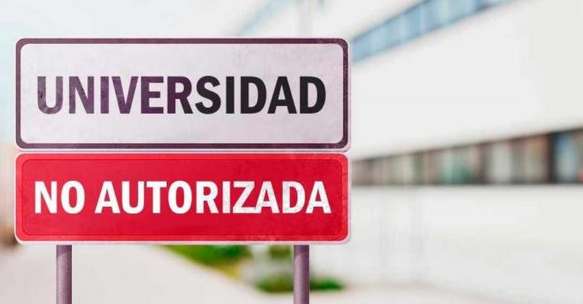SUNEDU impone multa de más de un millón de soles por prestar servicio educativo sin autorización - www.sunedu.gob.pe