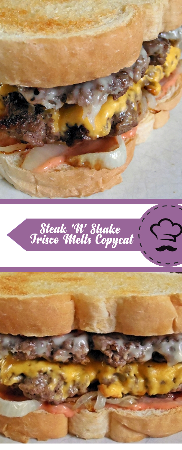 Steak 'N' Shake Frisco Melts Copycat
