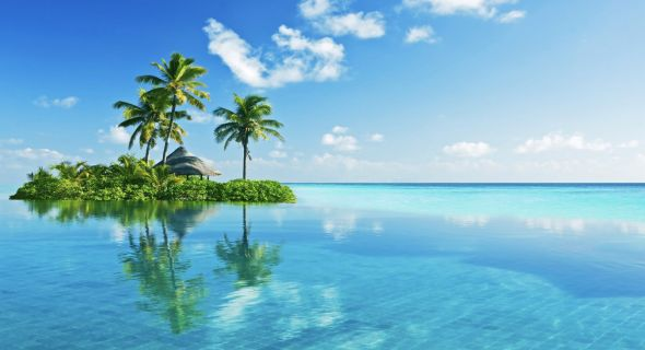 Tropical Lagoon Wallpapers Desktop Wallpapers